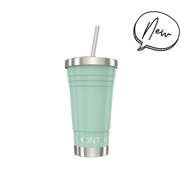 Montii Co. Insulated Smoothie Cup 450ml Eucalyptus