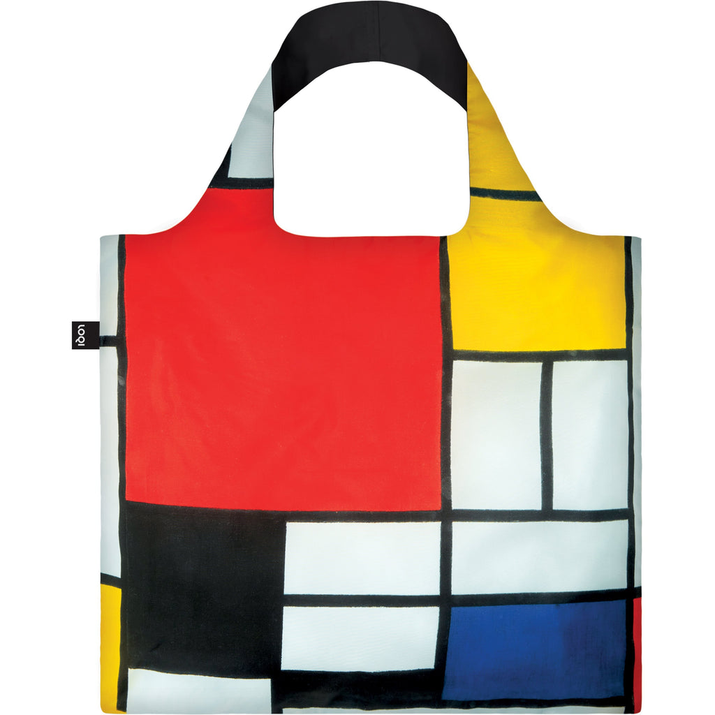 Loqi Reusable Shopping Bag Museum Collection - Piet Mondrian,Reusable Shopping Bag, Loqi - Yum Yum Store