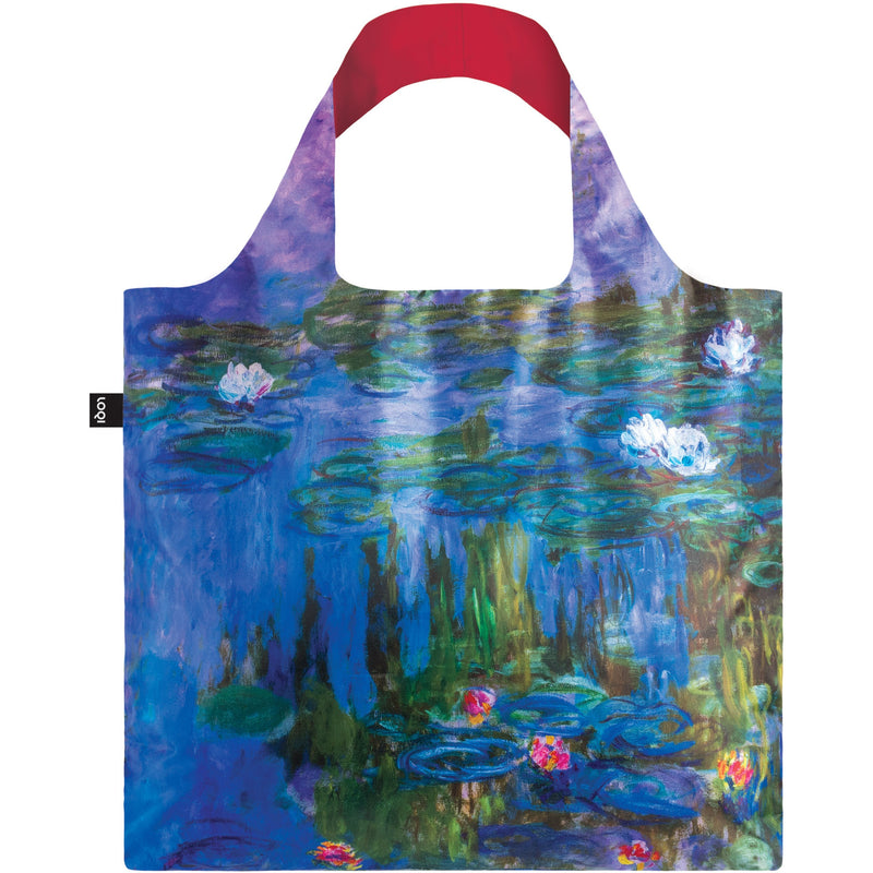 Loqi Reusable Shopping Bag Museum Collection - Water Lillies,Reusable Shopping Bag, Loqi - Yum Yum Store