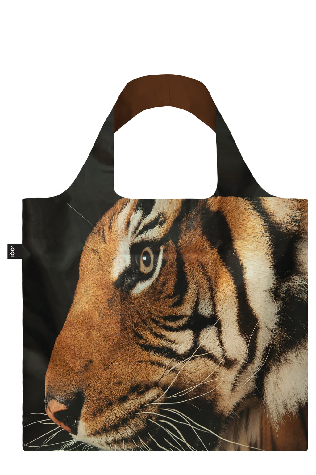 Loqi Reusable Shopping Bag National Geographical Collection Malayan Tiger