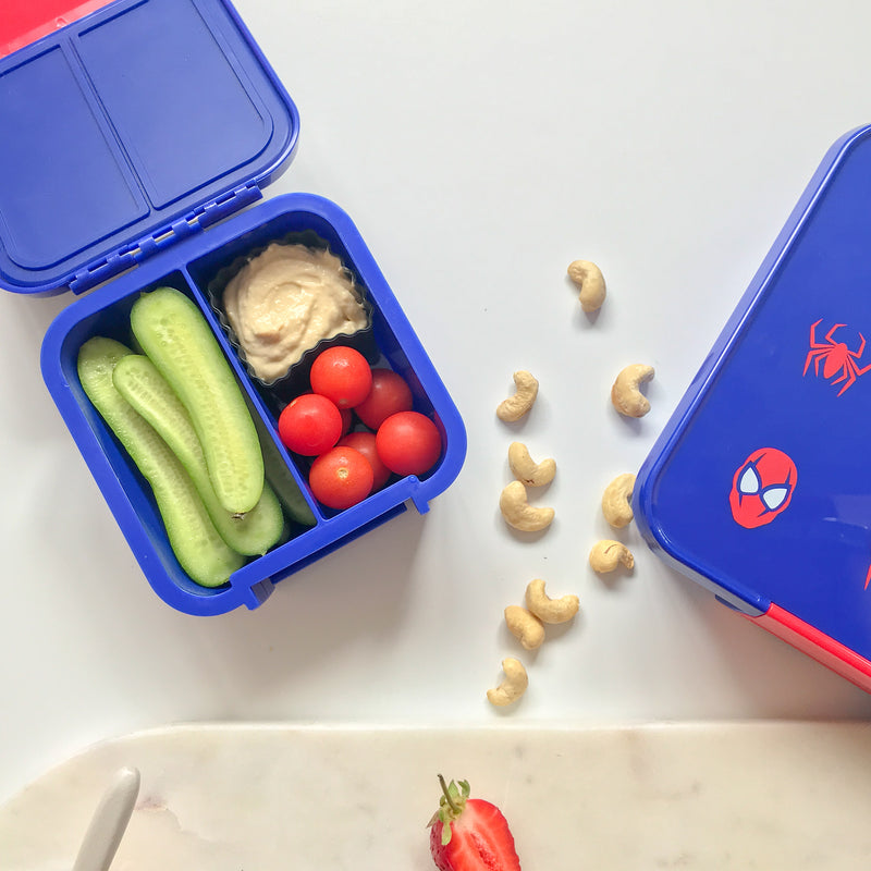Little Lunch Box Co - Bento Two - Spiderman,snack box, Little Lunchbox Co. - Yum Yum Store