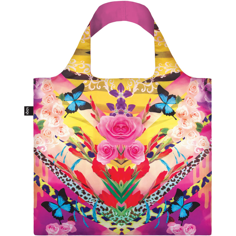 Loqi Reusable Shopping Bag Shinpei Naito Collection - Flower Dream,Reusable Shopping Bag, Loqi - Yum Yum Store