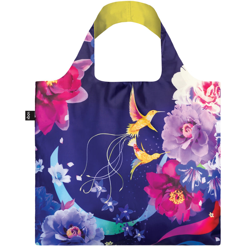 Loqi Reusable Shopping Bag Shinpei Naito Collection - Hummingbirds,Reusable Shopping Bag, Loqi - Yum Yum Store
