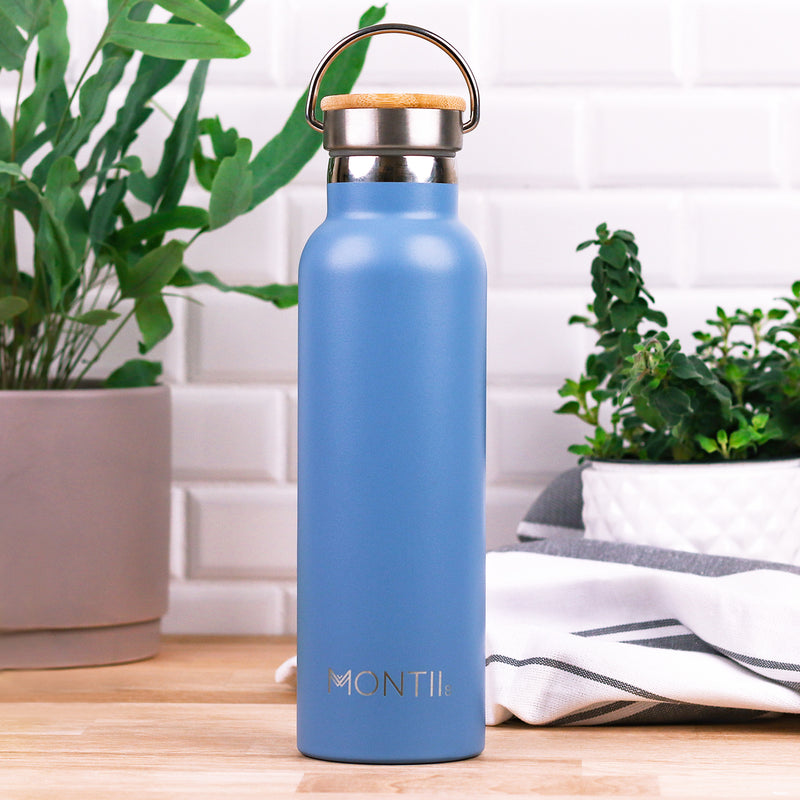 Montii Co Insulated Drink Bottle Slate