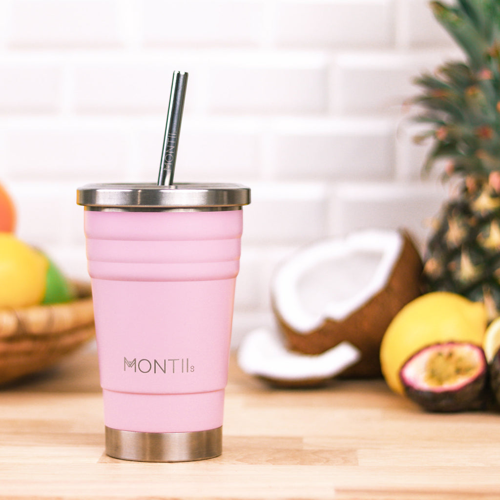 Montii Co. Insulated Smoothie Cup Mini Dusty Pink