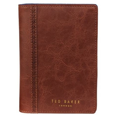 Ted Baker Walnut Brown Travel Wallet & Pen,Travel Wallet, Ted Baker - Yum Yum Store