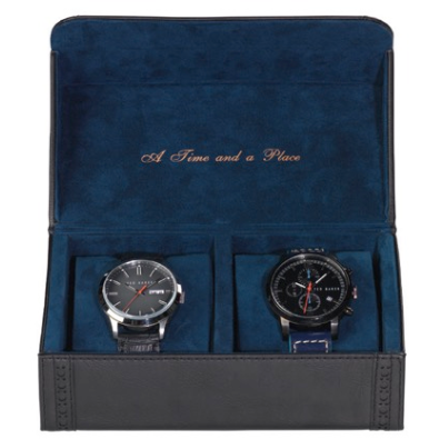 Ted Baker Watch Case - Black,Watch Case, Ted Baker - Yum Yum Store