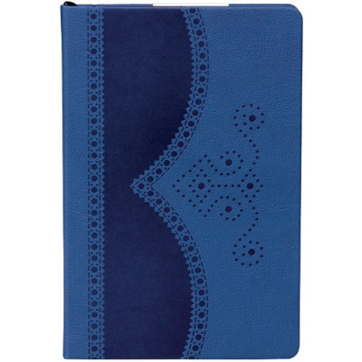 Ted Baker A5 Blue Brogue Lined Notebook,Notebook, Ted Baker - Yum Yum Store