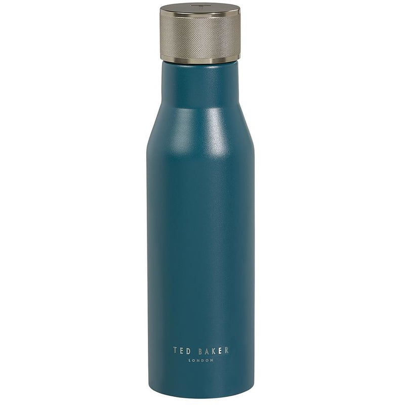 Ted Baker Insulated Water Bottle - Emerald Green Knurled Lid,Water Bottle, Ted Baker - Yum Yum Store