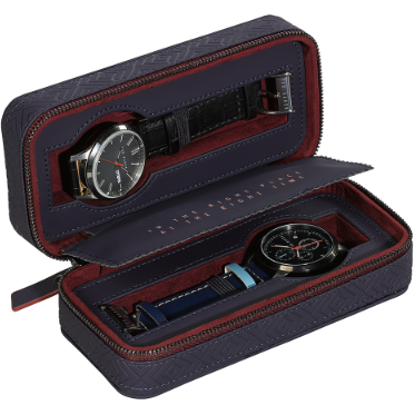Ted Baker Travel Watch Case Zip up 1/2 Watches Blue Cadet,Watch Case, Ted Baker - Yum Yum Store