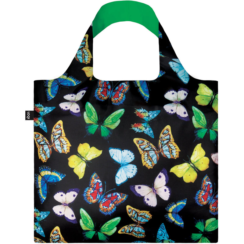 Loqi Reusable Shopping Bag Butterflies,Reusable Shopping Bag, Loqi - Yum Yum Store