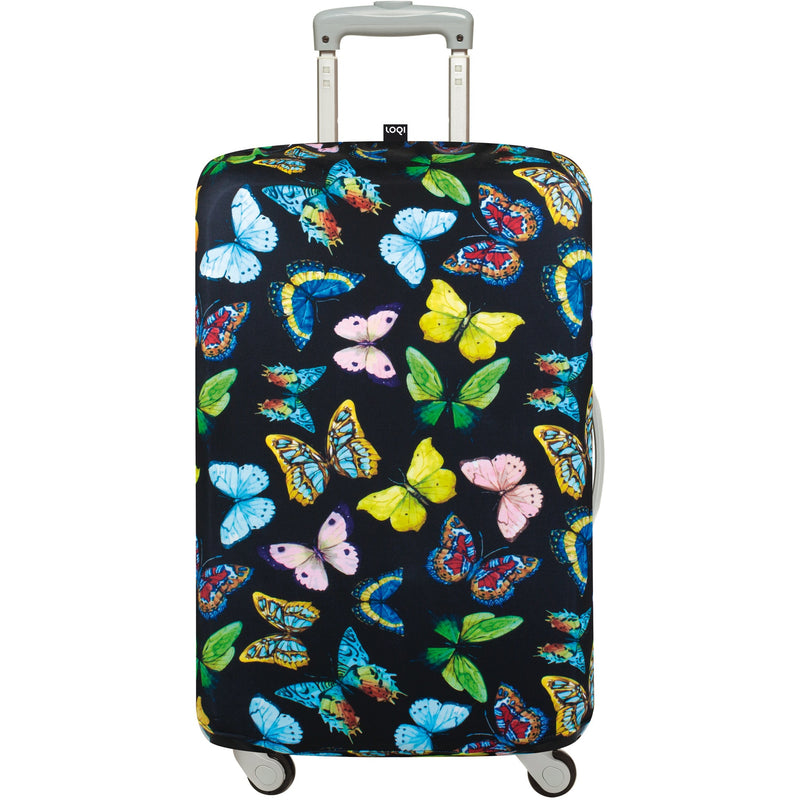 Loqi Luggage Cover Butterflies - Medium,luggage cover, Loqi - Yum Yum Store