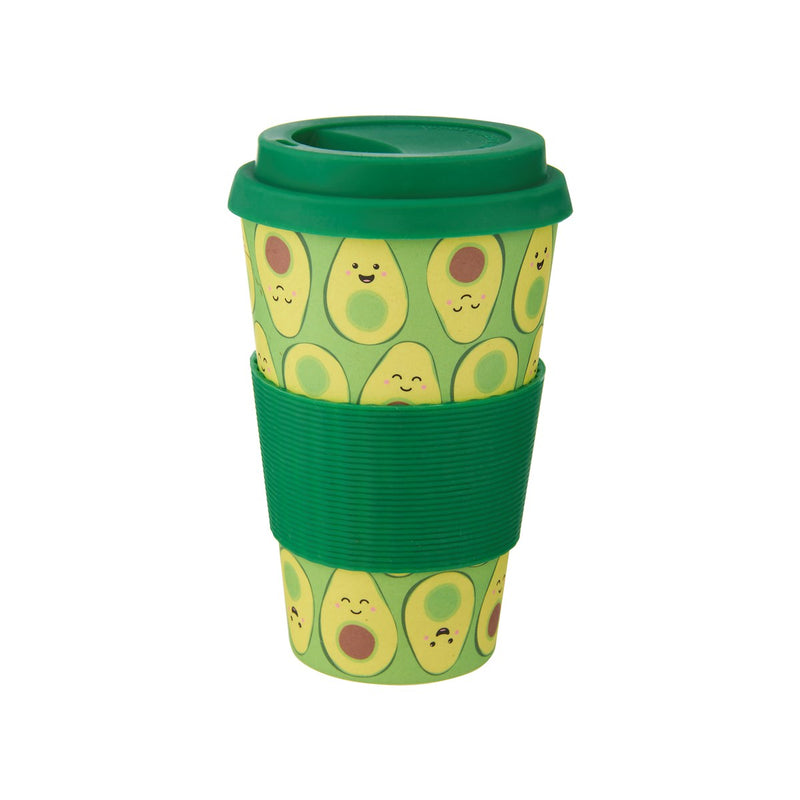 Sass & Belle Happy Avocado Bamboo Coffee Cup