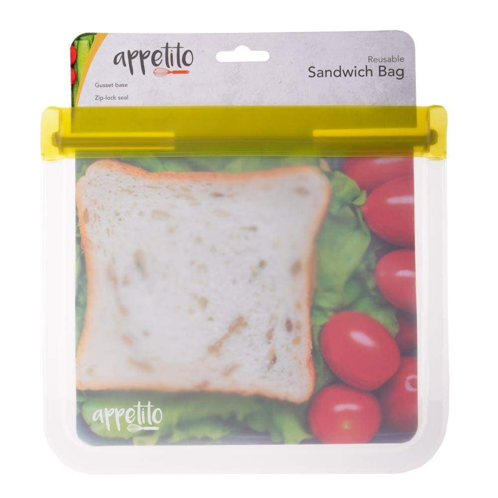 Appetito Reusable Sandwich Bag,Reusable Snack Bag, Appetito - Yum Yum Store
