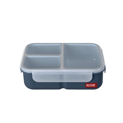 Russbe Lunchbox Bento 3 Compartment 1.6L Navy,lunchbox, Russbe - Yum Yum Store