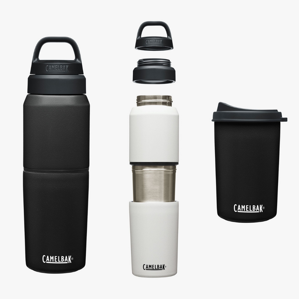 Camelbak Multi Bev Insulated 2 in 1 Water Bottle & Removable Cup Black