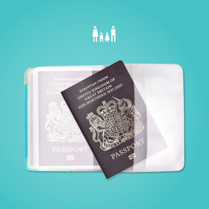 Alife Design Family Passport Cover Rose,Travel Wallet, Alife Design - Yum Yum Store