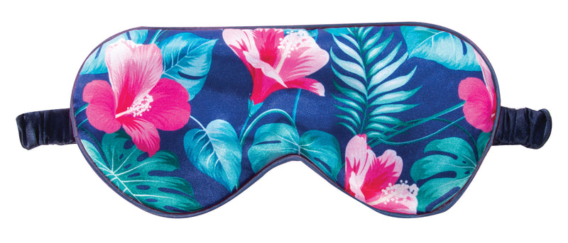 IS Gift Satin Sleep Mask Tropical Blue,Sleep Mask, IS Gift - Yum Yum Store