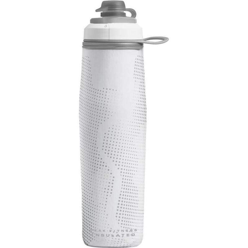 Camelbak Peak Fitness Chill 750ml - White Silver,Plastic Water Bottle, Camelbak - Yum Yum Store