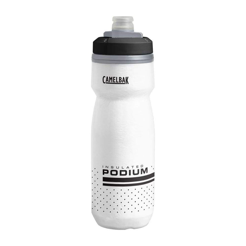 Camelbak Podium Chill 0.6L White,Plastic Water Bottle, Camelbak - Yum Yum Store