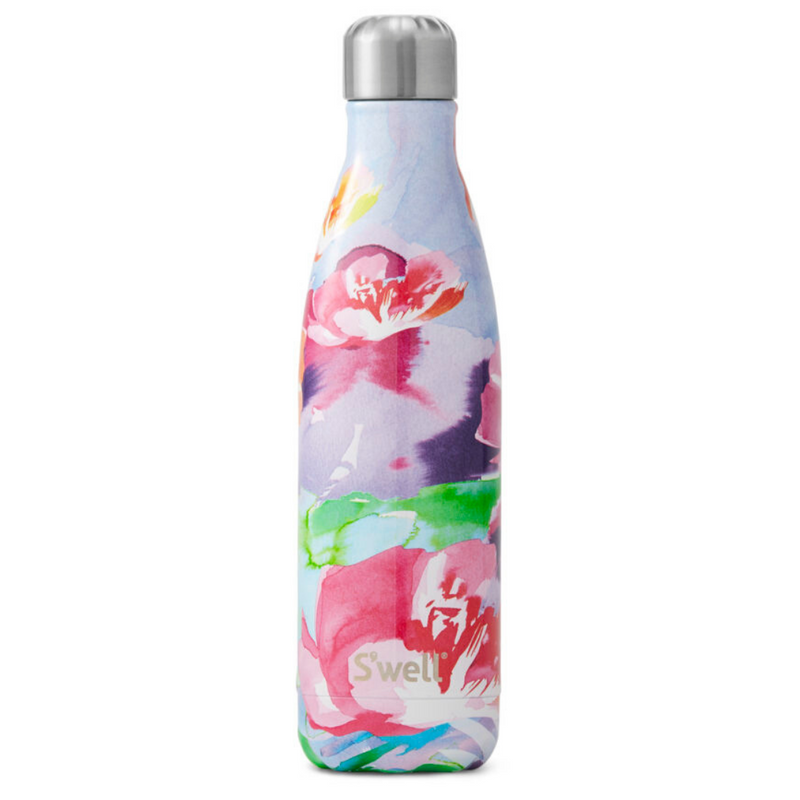 S'well Insulated Drink Bottle Water Colour Collection - 500ml Lilac