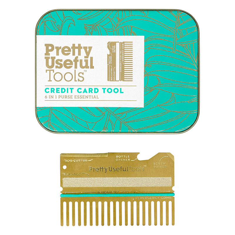 Pretty Useful Credit Card Tool Gold,Gadget Gift, Pretty Useful Tools - Yum Yum Store