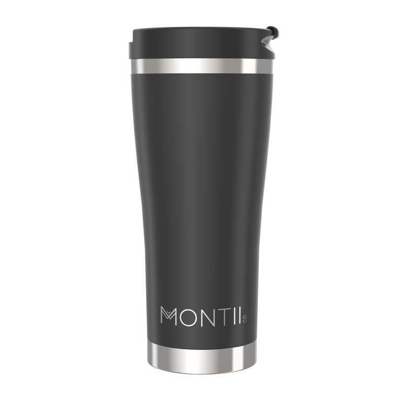 Montii Co. Reusable Mega Coffee Cup Black