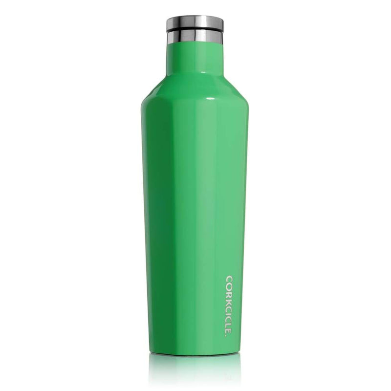Corkcicle Classic Canteen Caribbean Green 16oz,Water Bottle, Corkcicle - Yum Yum Store