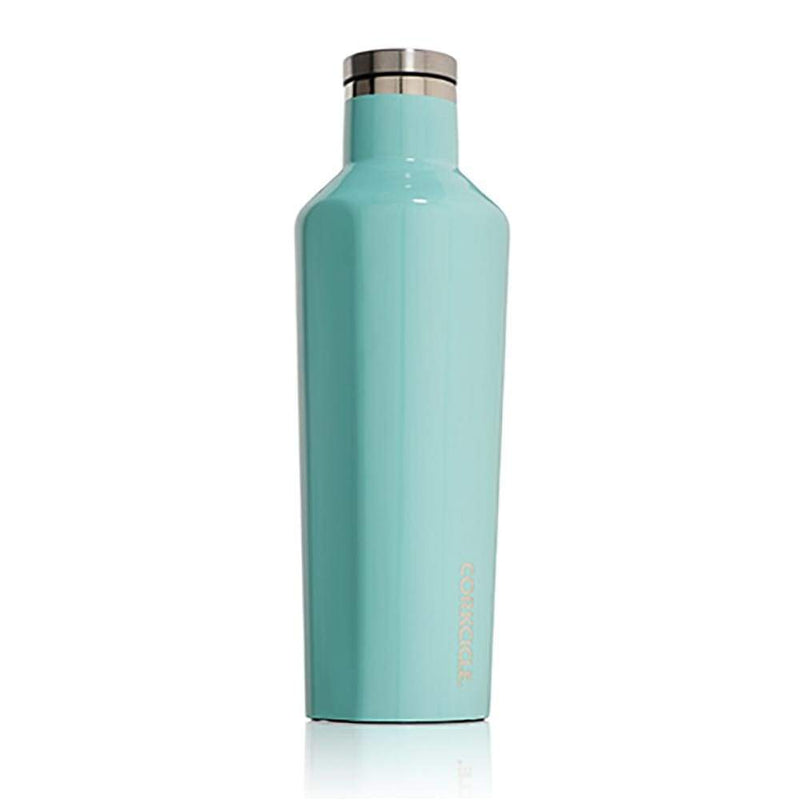 Corkcicle Classic Canteen Turquoise 16oz,Water Bottle, Corkcicle - Yum Yum Store
