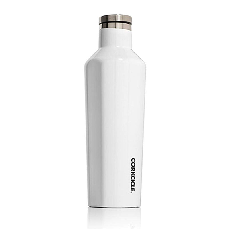 Corkcicle Classic Canteen White 16oz,Water Bottle, Corkcicle - Yum Yum Store