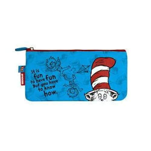 Dr. Suess The Cat In The Hat Pencil Case,Pencil Case, Dr Suess - Yum Yum Store