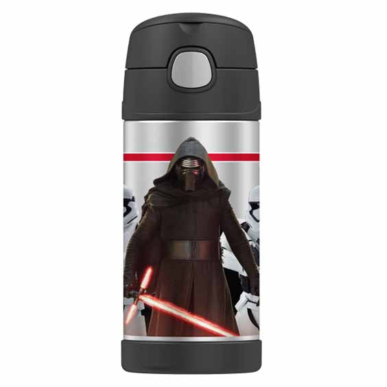 Thermos Funtainer Stainless Steel Vacuum Insulated Straw Drink Bottle Star Wars,Stainless Steel Water Bottle, Thermos - Yum Yum Store