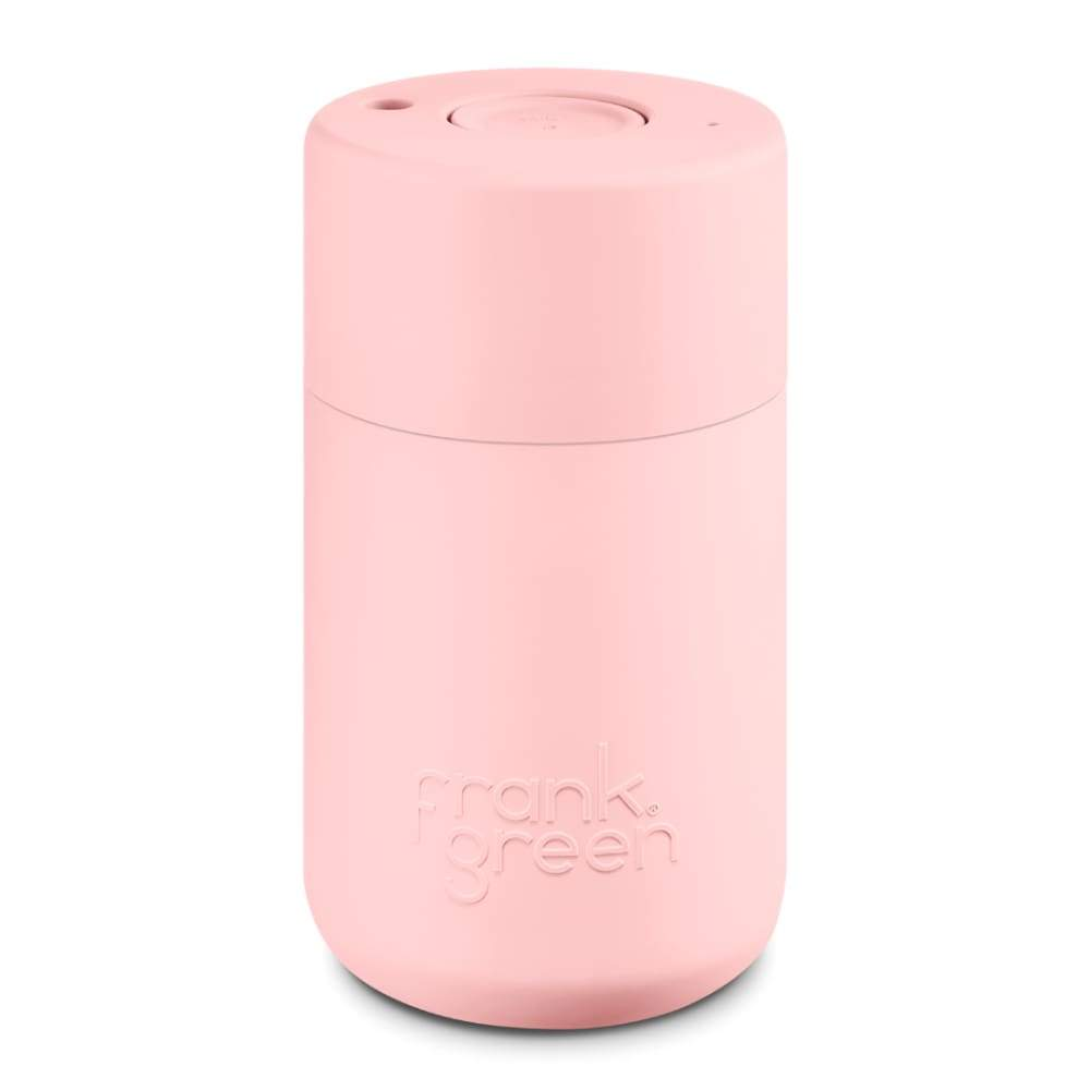 Frank Green Original Cup 12oz - Blushed Pink,Reusable Coffee Cup, Frank Green - Yum Yum Store