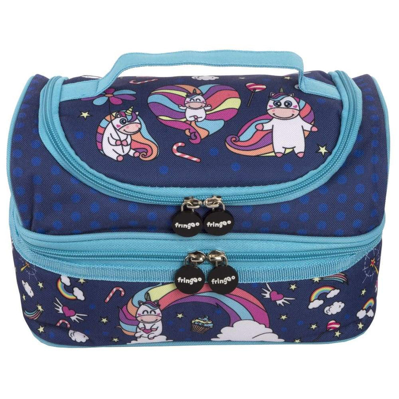 Fringoo Multi Compartment Lunch Box Believe In Unicorns,Insulated Lunchbox, Fringoo - Yum Yum Store