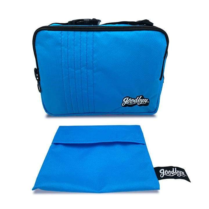 Goodbyn Insulated Lunch Bag Blue,Insulated Lunchbag, Goodbyn - Yum Yum Store