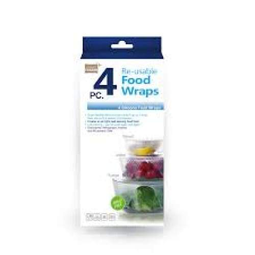 Grand Fusion Silicone Food Wraps Set of 4,Food Wrap, Grand Fusion - Yum Yum Store