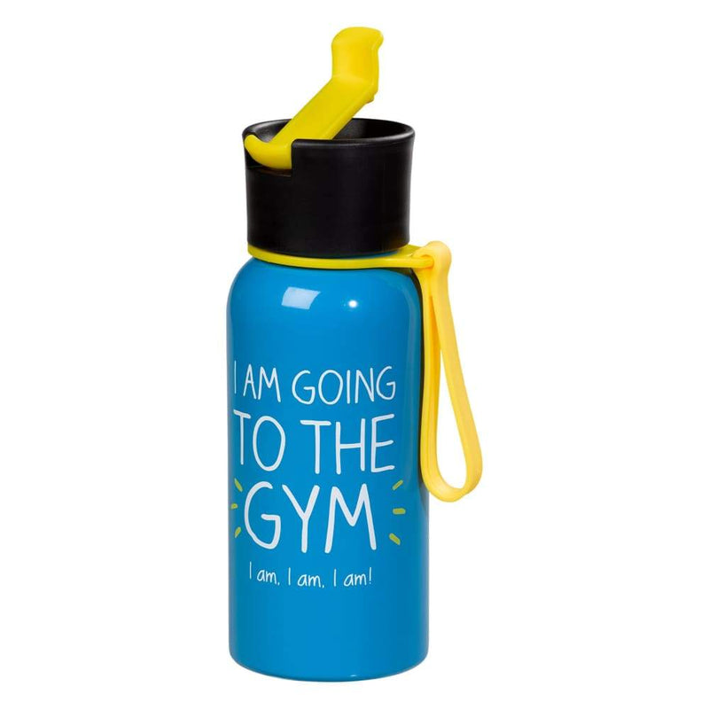 Happy Jackson I am Going To The Gym Water Bottle,Water Bottle, Happy Jackson - Yum Yum Store