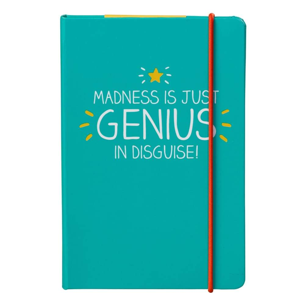 Happy Jackson Madness Is Just Genius A6 Notebook,Notebook, Happy Jackson - Yum Yum Store
