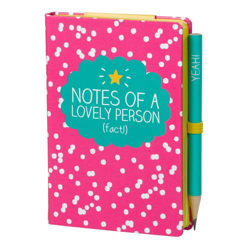 Happy Jackson Notes of a Lovely Person A7 Mini Notebook,Notebook, Happy Jackson - Yum Yum Store