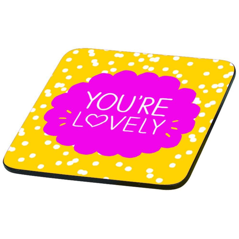 Happy Jackson You're Lovely Coaster,Coaster, Happy Jackson - Yum Yum Store