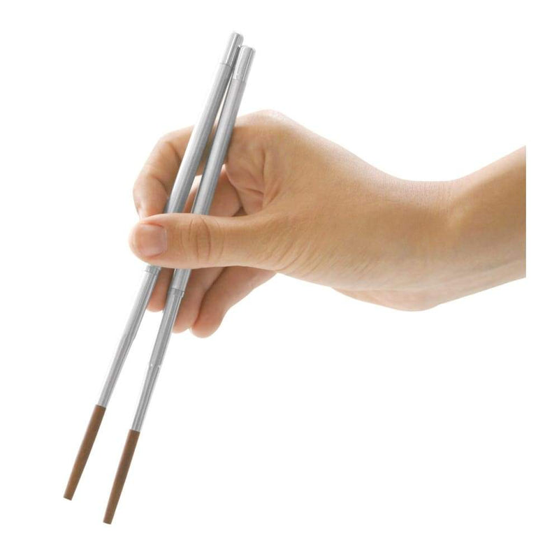 IS Gift Collapsible Reusable Stainless Steel Chopsticks,Cutlery, IS Gift - Yum Yum Store