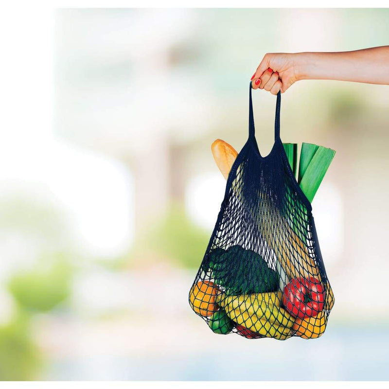 IS Gift Cotton String Shopping Bag Cream,Reusable Shopping Bag, IS Gift - Yum Yum Store