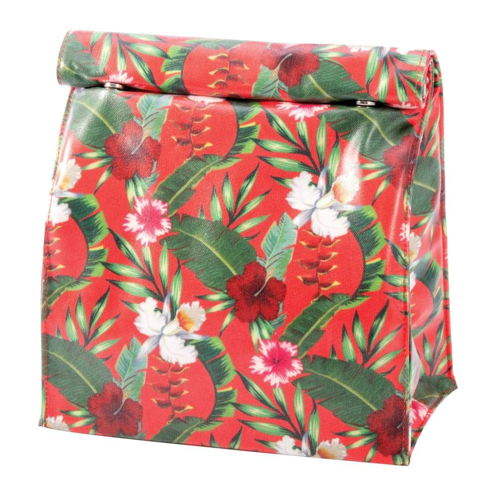 IS Gift Insulated Lunch Bag Tropical Red