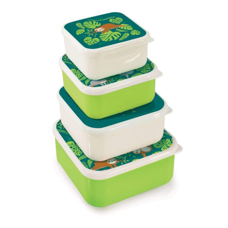 IS Gift Nesting Lunch & Snack Boxes Sloths,snack box, IS Gift - Yum Yum Store