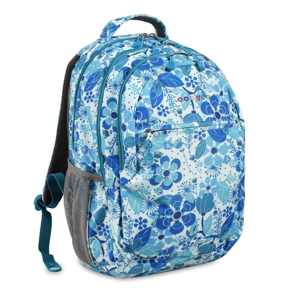 JWORLD New York Cornelia Backpack - Blue Vine,Backpack, J World New York - Yum Yum Store