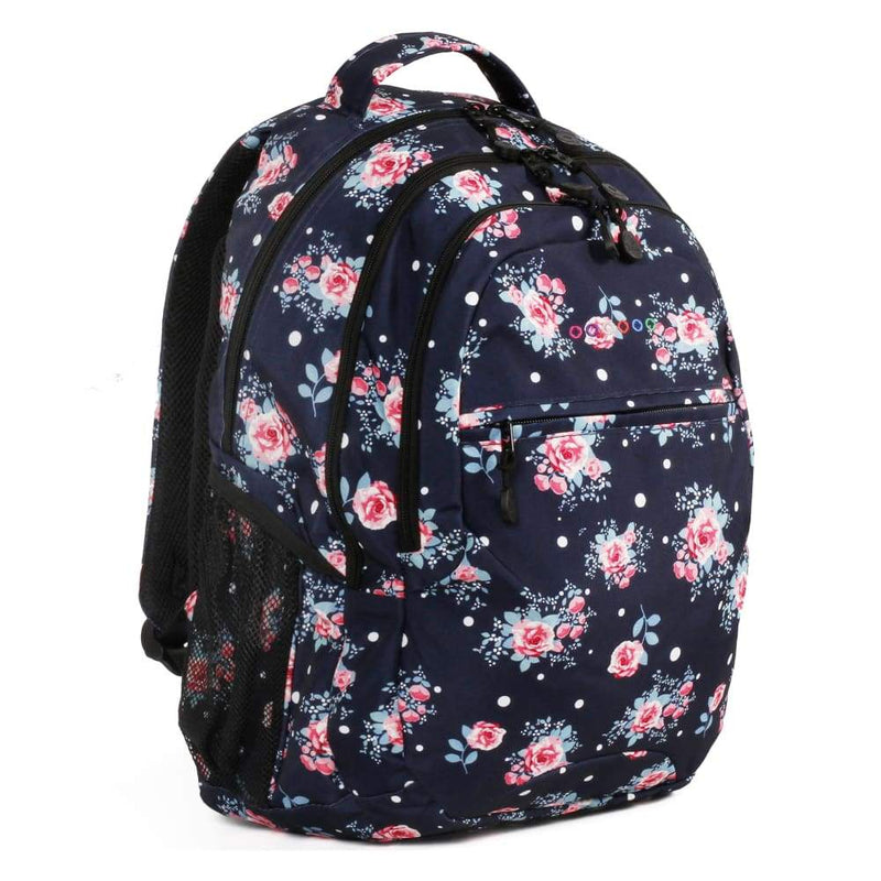JWORLD New York Cornelia Backpack - Navy Rose,Backpack, J World New York - Yum Yum Store
