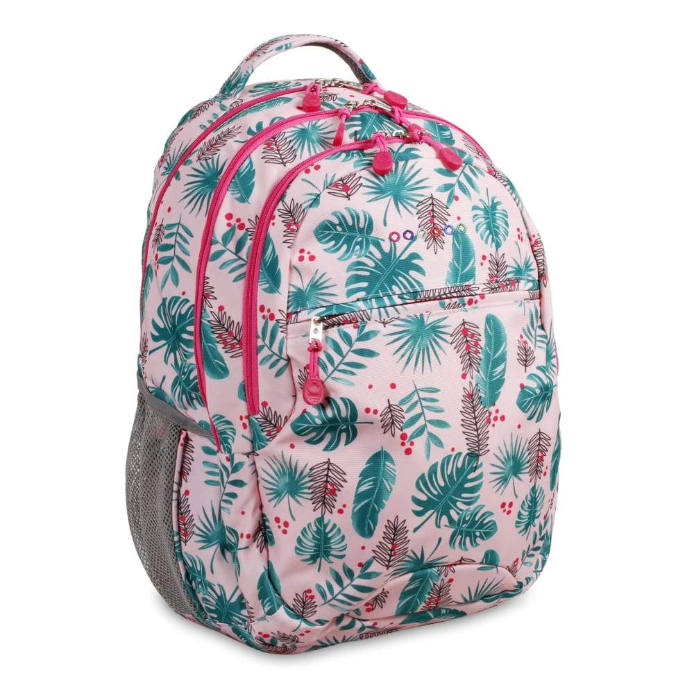 JWORLD New York Cornelia Backpack - Palm Leaves,Backpack, JWorldStore - Yum Yum Store