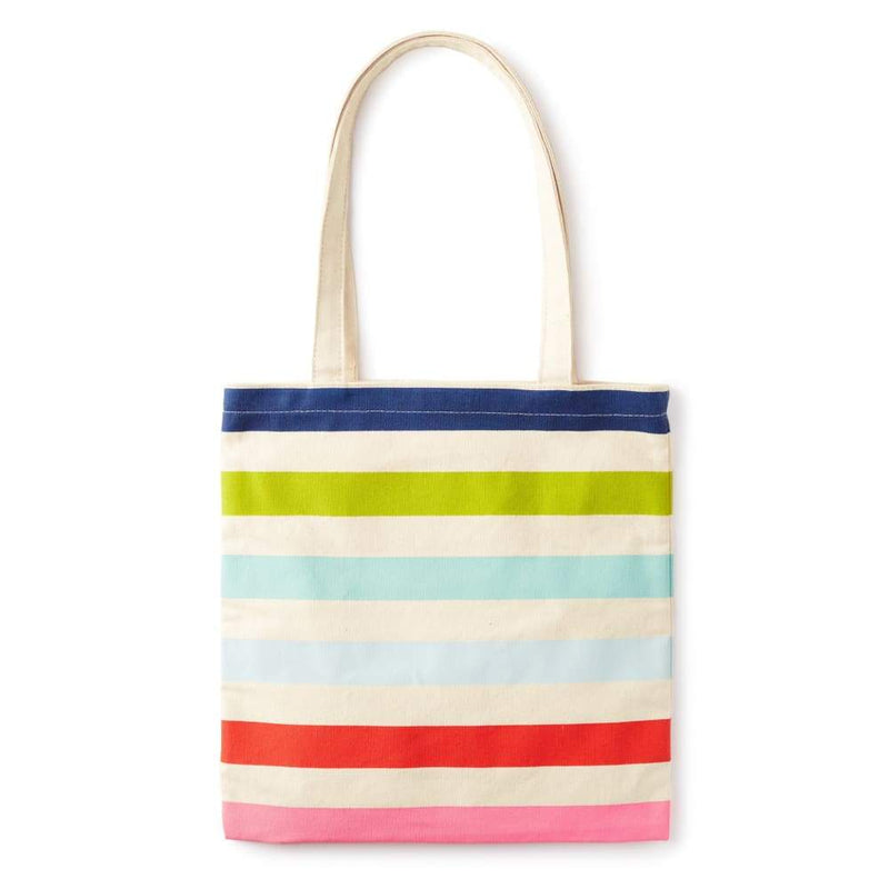 Kate Spade Candy Stripe Canvas Book Tote,Reusable Shopping Bag, Kate Spade New York - Yum Yum Store