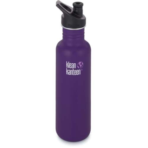 Klean Kanteen 27oz (800ml) Classic with Sports Cap 3.0 Berry Syrup,Water Bottle, Klean Kanteen - Yum Yum Store
