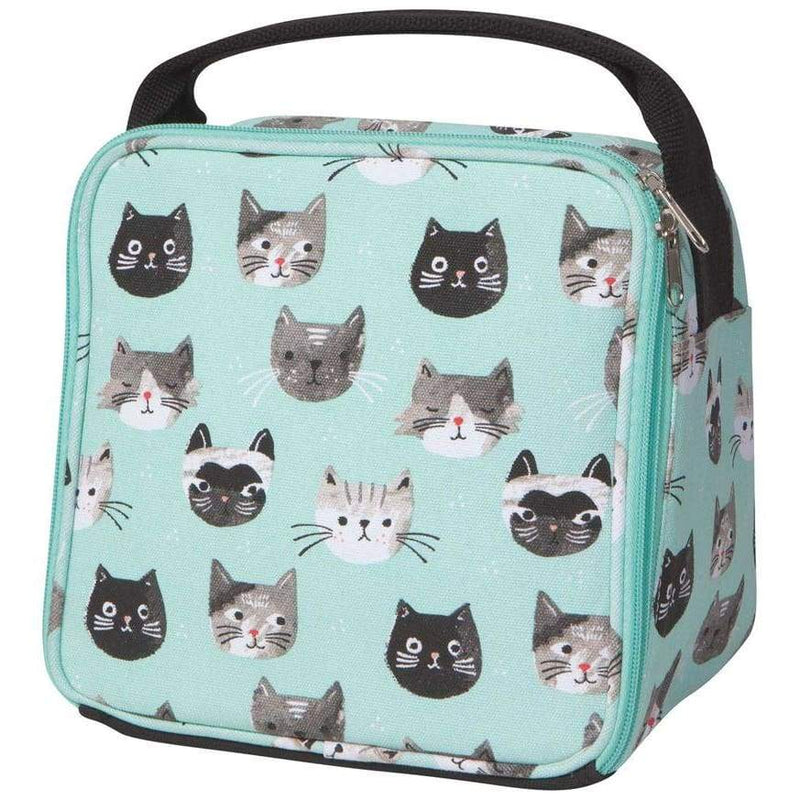 Let's Do Lunch Bag Cats Meow,Insulated Lunchbag, Now Designs - Yum Yum Store